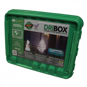 Vandtæt Samleboks DRiBOX - Large, Grøn