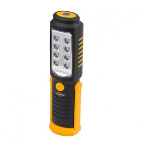 Rotérbar LED arbejdslygte / lommelygte